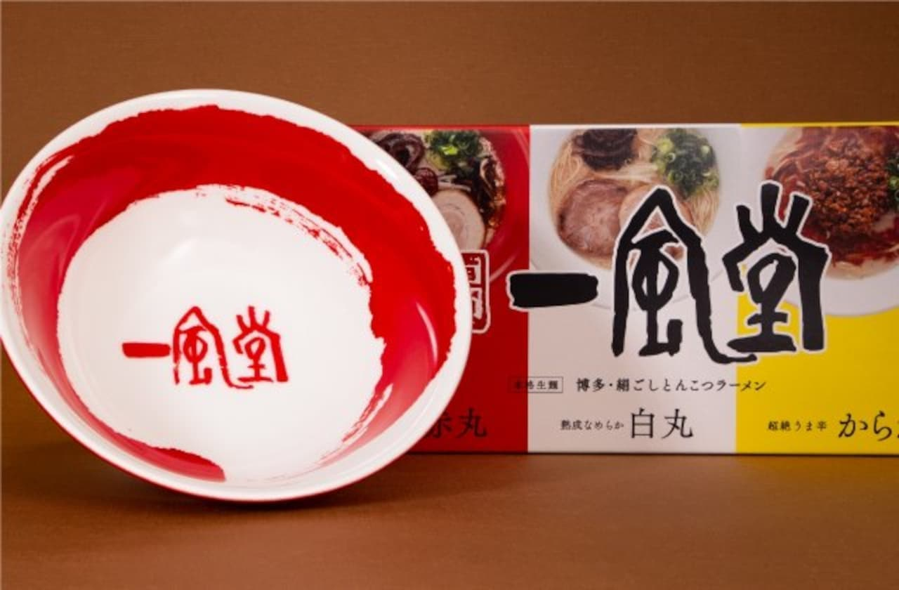 一風堂オリジナル丼付きラーメンセット