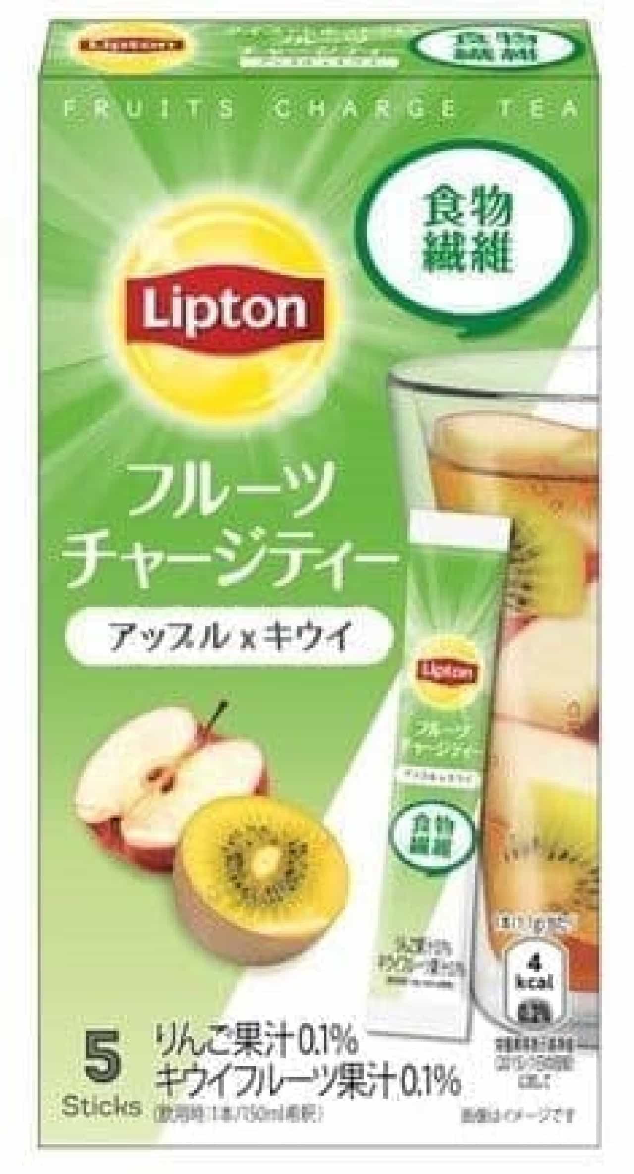 リプトン フルーツチャージティー スティック アップル&キウイ