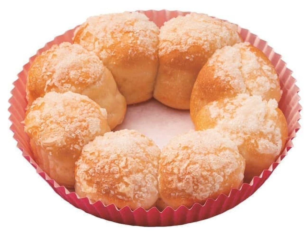 ミスド「ポン・デ・ちぎりパン」もちもち食感アップ