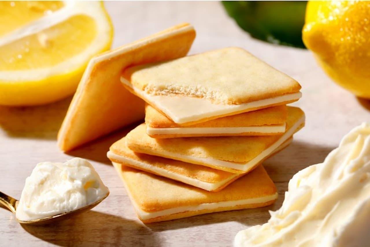 季節限定商品「レモン&クリームチーズクッキー」