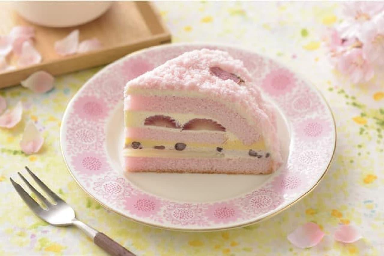 銀座コージーコーナー「さくらのケーキ」