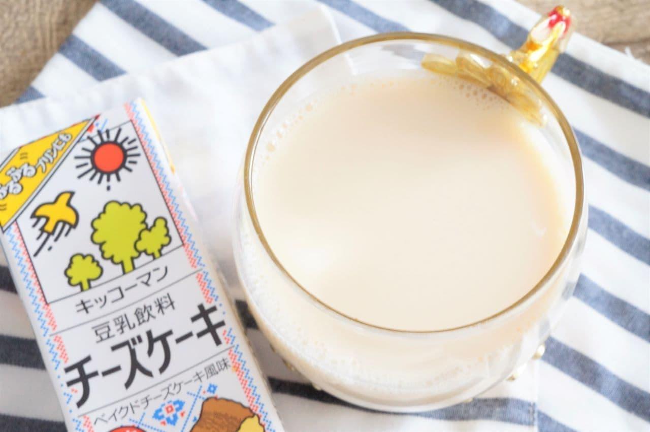 キッコーマン 豆乳飲料 チーズケーキ