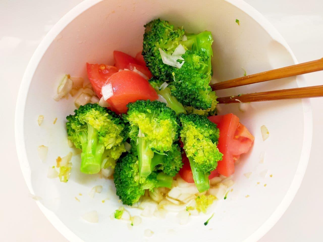 「ブロッコリーの和風マリネ」レシピ