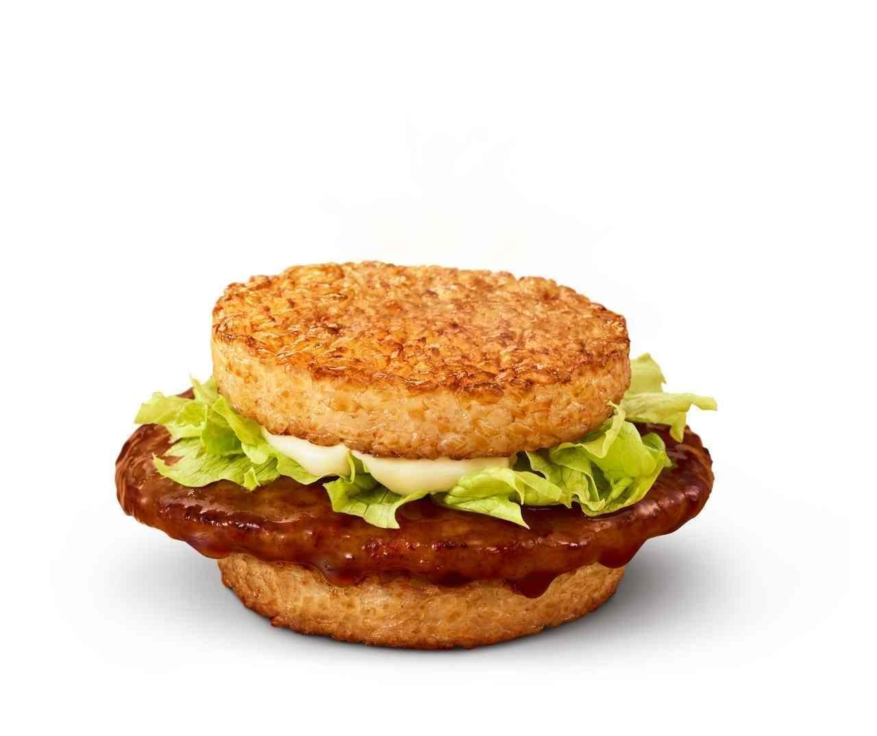 マクドナルド「ごはんフィッシュ 和風黒胡椒」など「ごはんバーガー」3種
