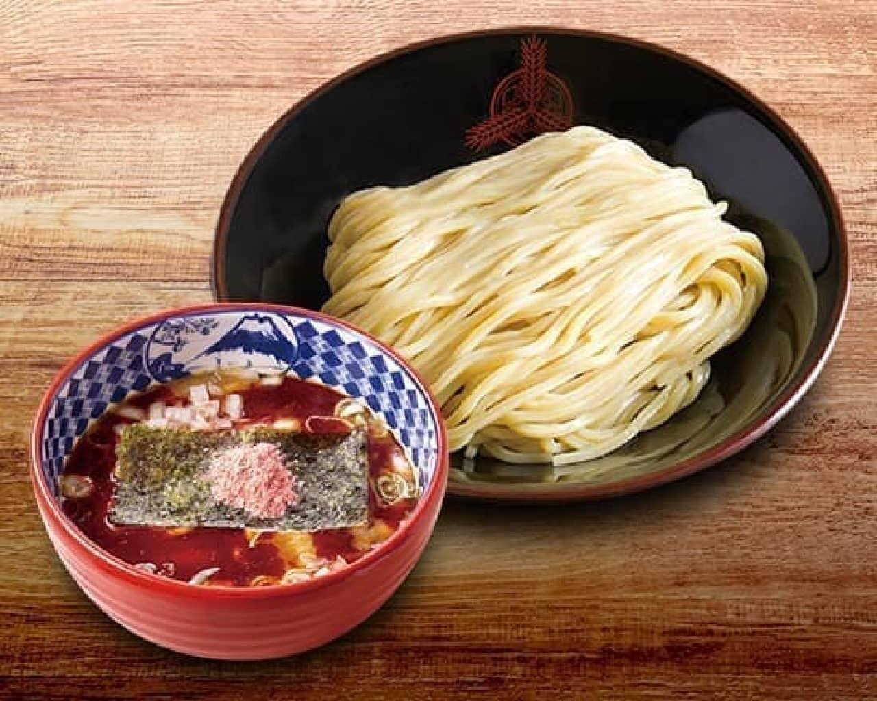 三田製麺所「濃厚海老つけ麺」