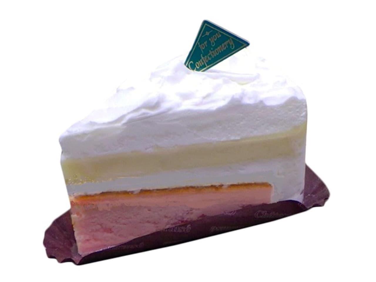 シャトレーゼ「ダブルチーズケーキ」