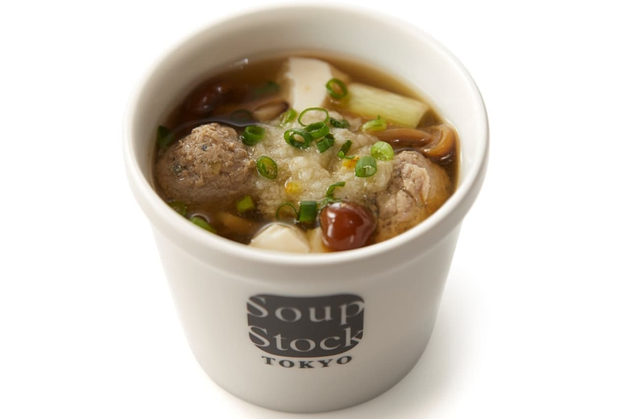 Soup Stock Tokyo「女川産さんまのつみれスープ」数量限定