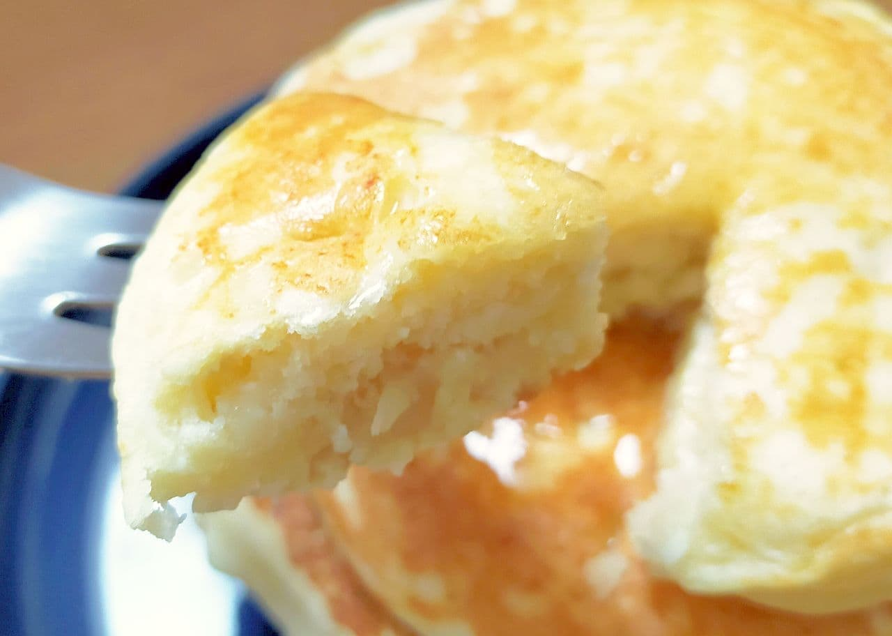 豆腐パンケーキのレシピ