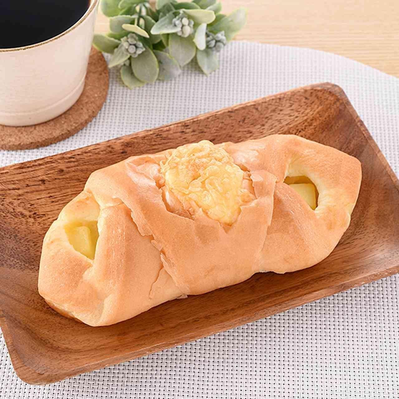 ファミマ新作パン「ブリュレ仕立てのシューデニッシュ」など2つの食感が楽しめる4種