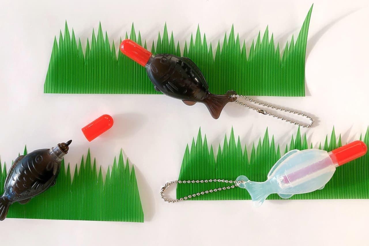 ジオデザイン「<香る>醤油鯛ペン(醤油いろ)」「<ケチャップ香る>醤油鯛ペン(ケチャップいろ)」