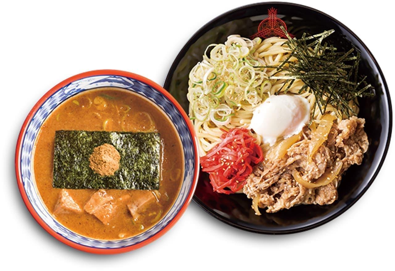 養老乃瀧・だんまや水産にコラボメニュー「濃厚豚骨魚介つけ麺」