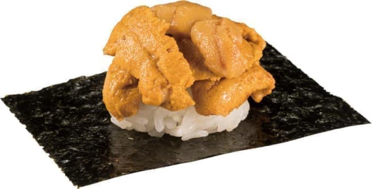かっぱ寿司「うにとろ祭り」