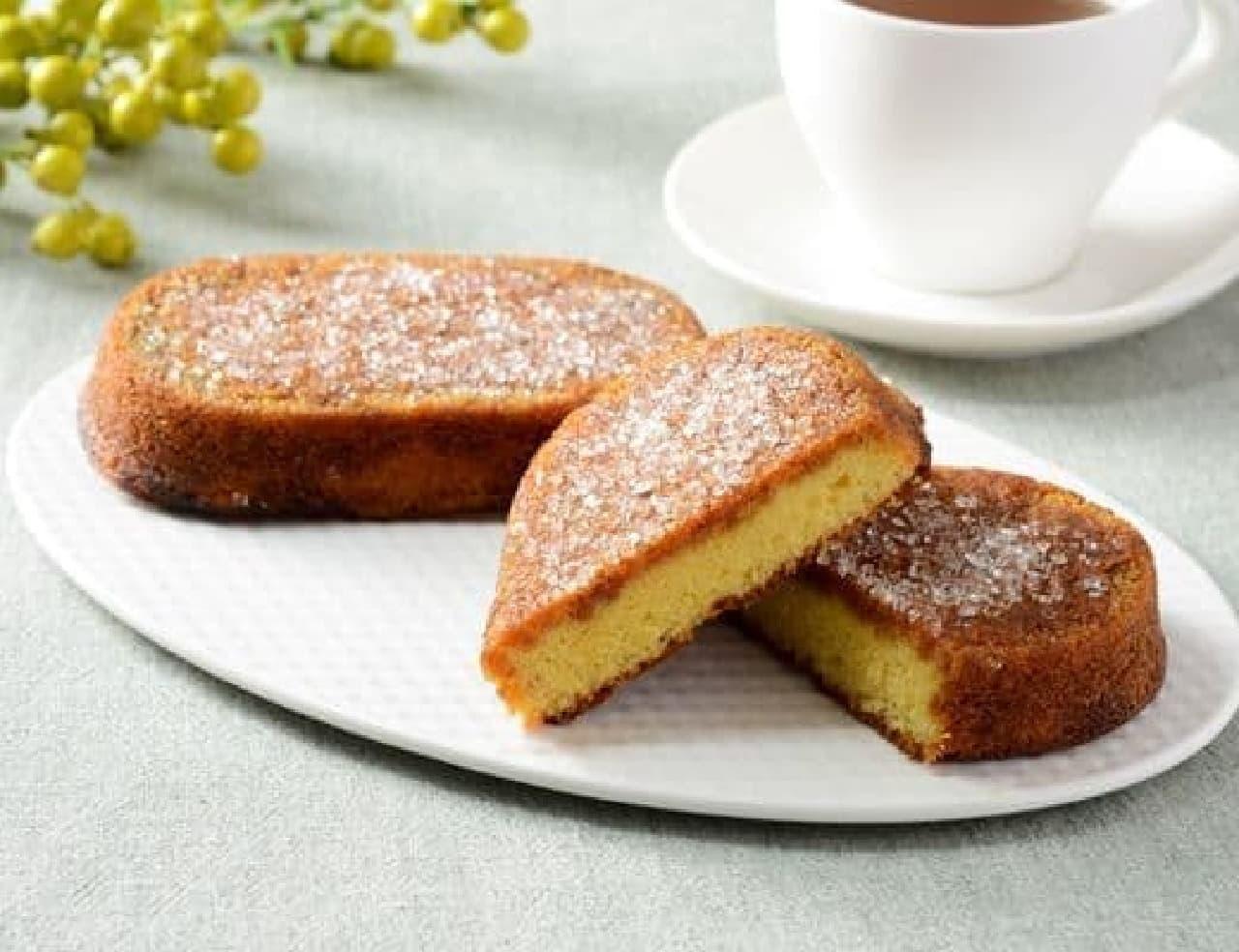ローソン「たまごとざらめのケーキ」
