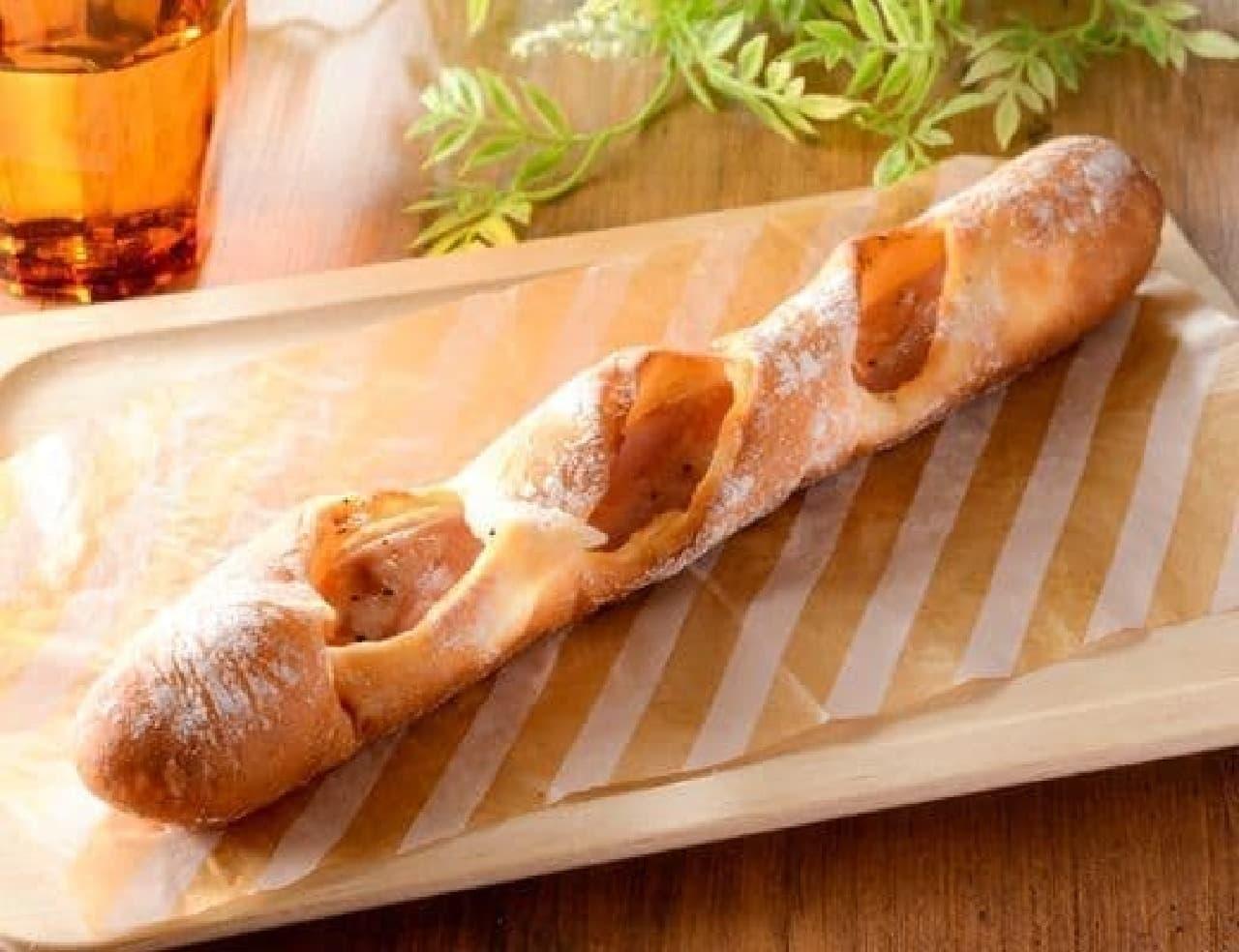 ローソン「ロングハムフランスパン」
