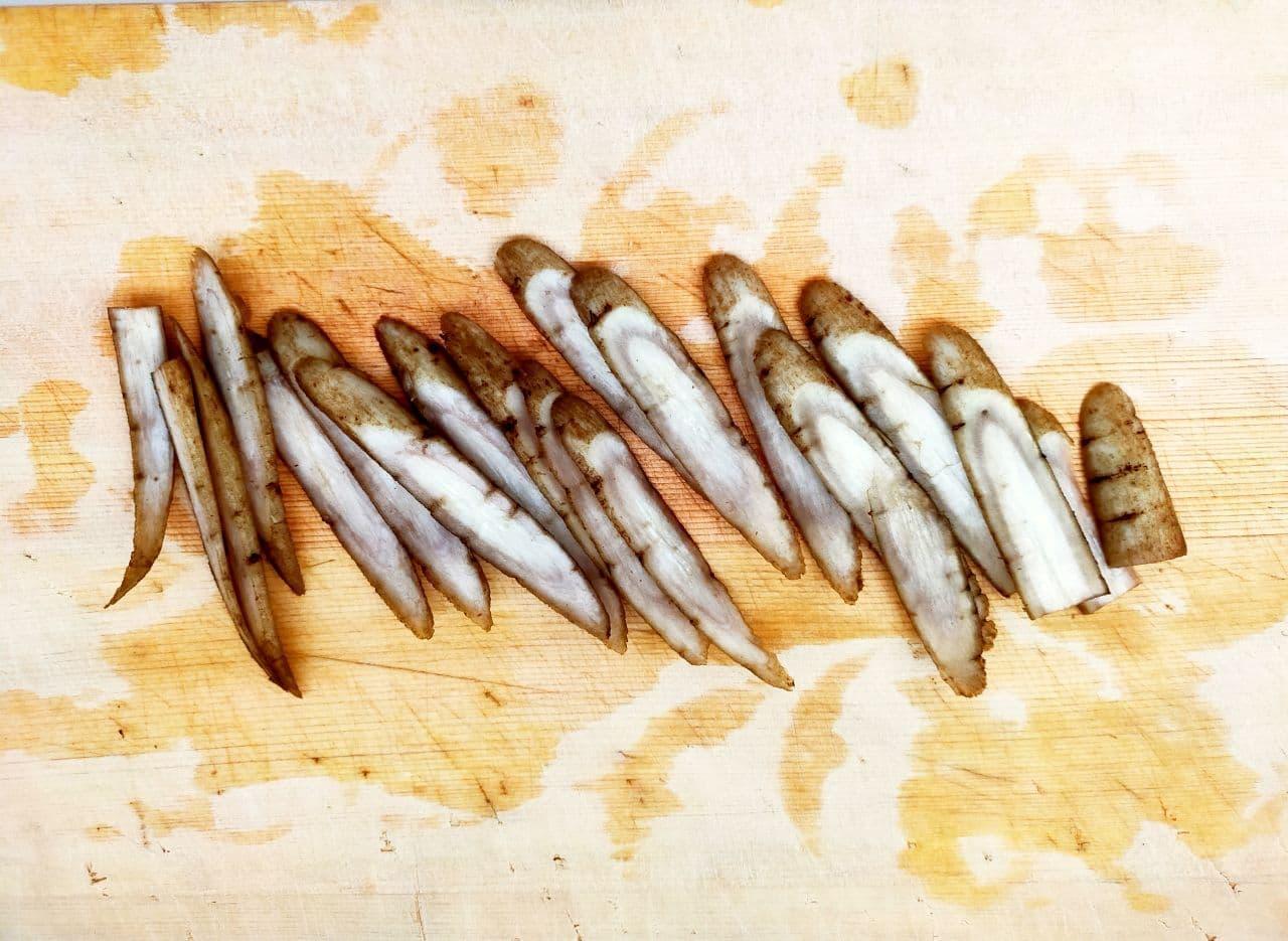レンジで「根菜チップス」レシピ