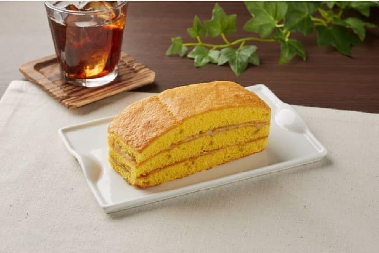 ファミリーマート「福井県産とみつ金時芋のサンドケーキ」