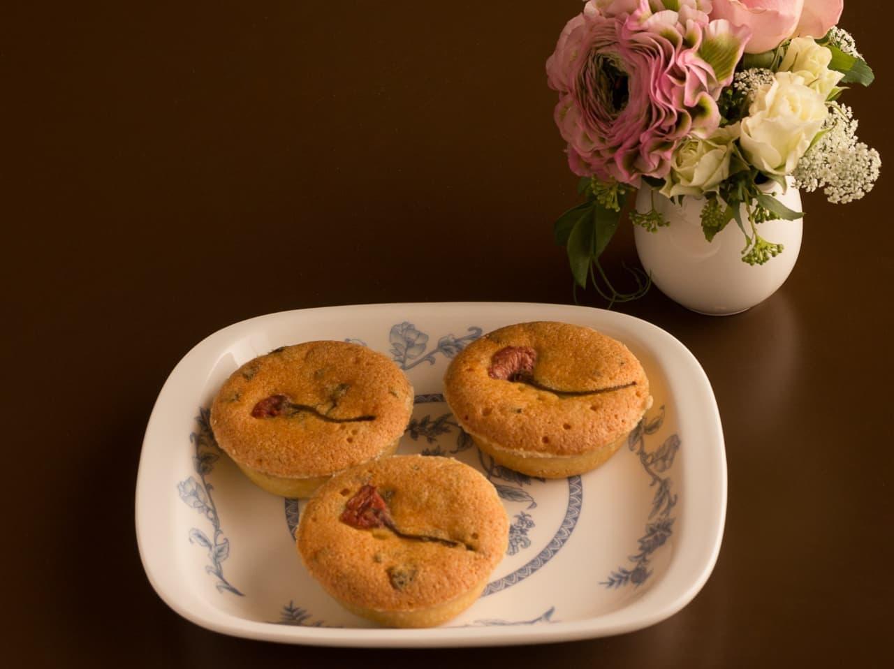 銀座ウエスト「桜のパウンドケーキ」「桜のタルト」