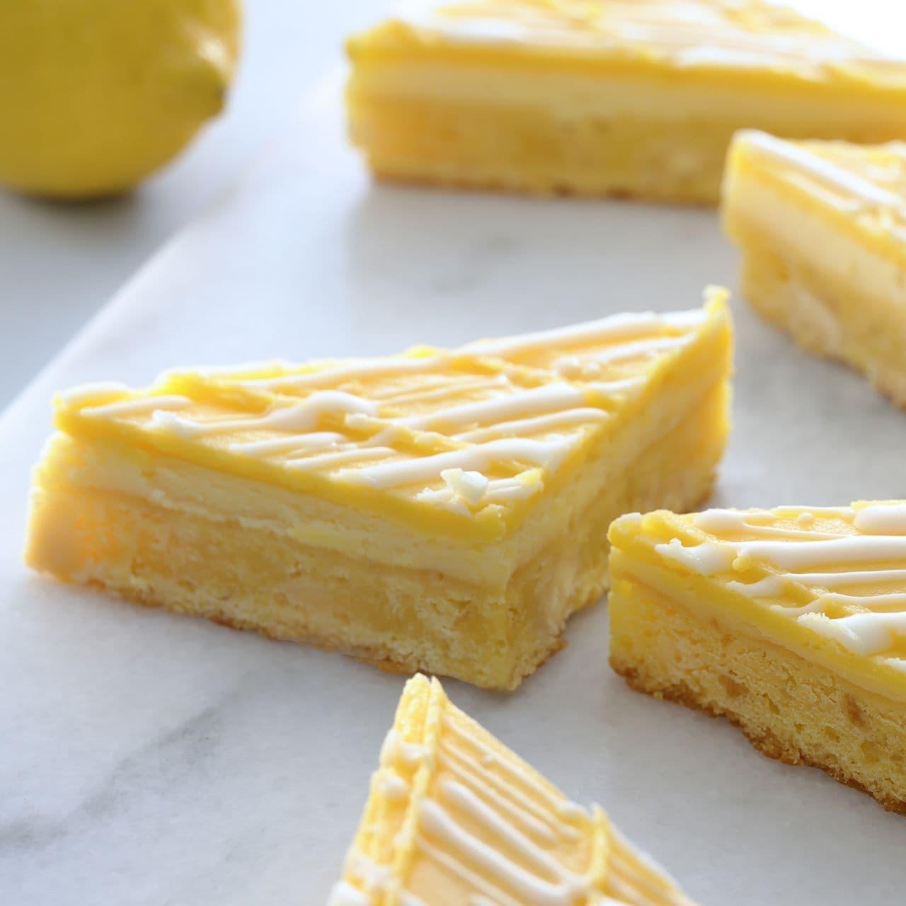 スターバックス「レモンクリームチーズバー」