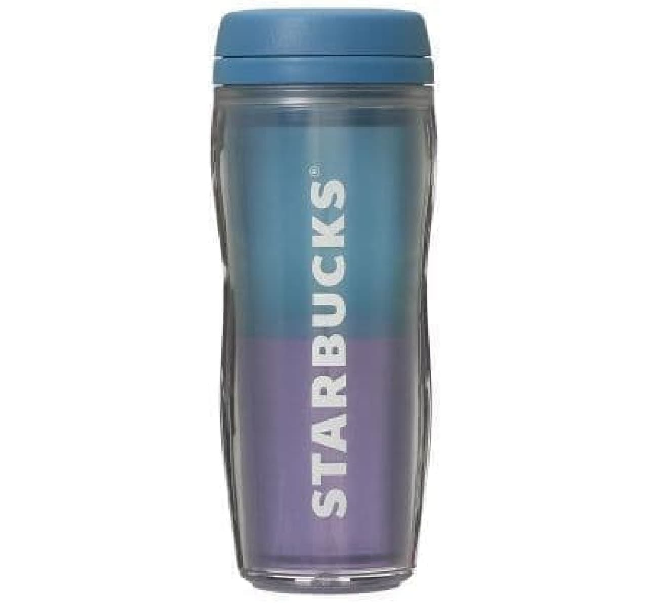 スターバックス「ボトルバイカラーブルー355ml」