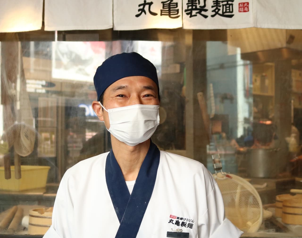 丸亀製麺の麺職人の柳瀬さん