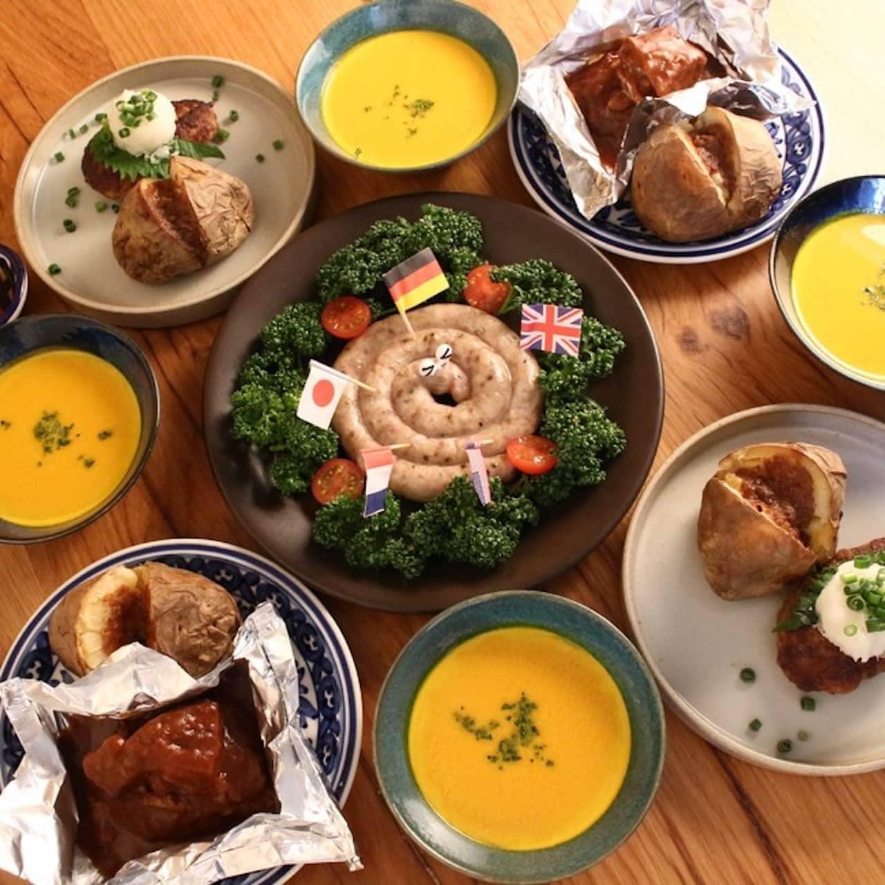 春の限定商品「老舗洋食屋のご馳走ディナーセット」