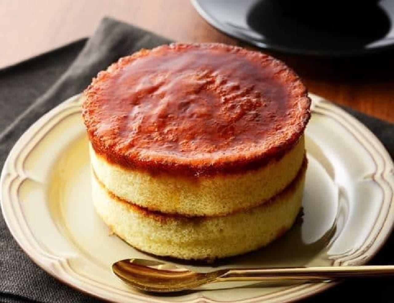 ローソン「ブリュレパンケーキ」