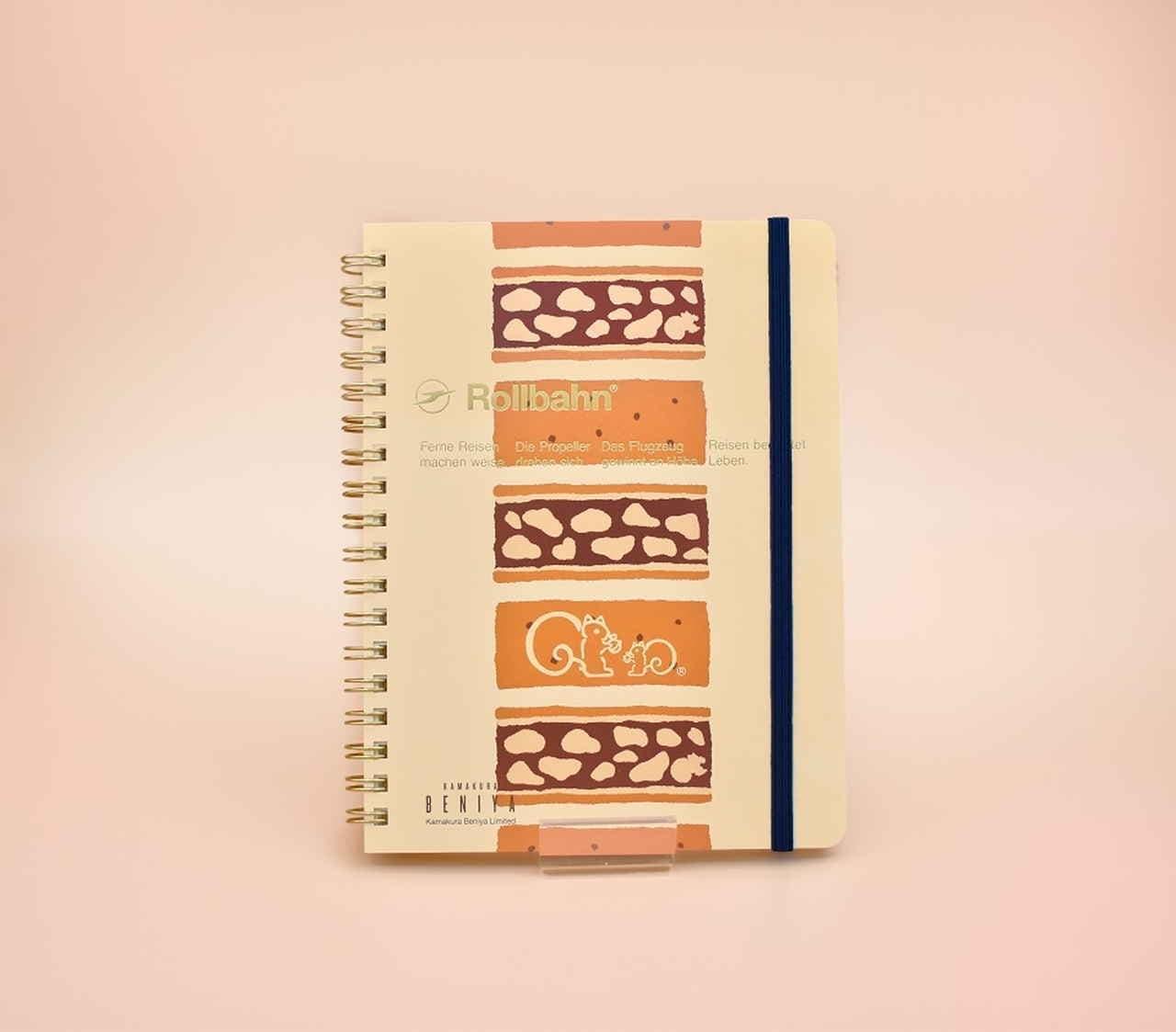 鎌倉紅谷「クルミッ子」×ロルバーンメモ帳