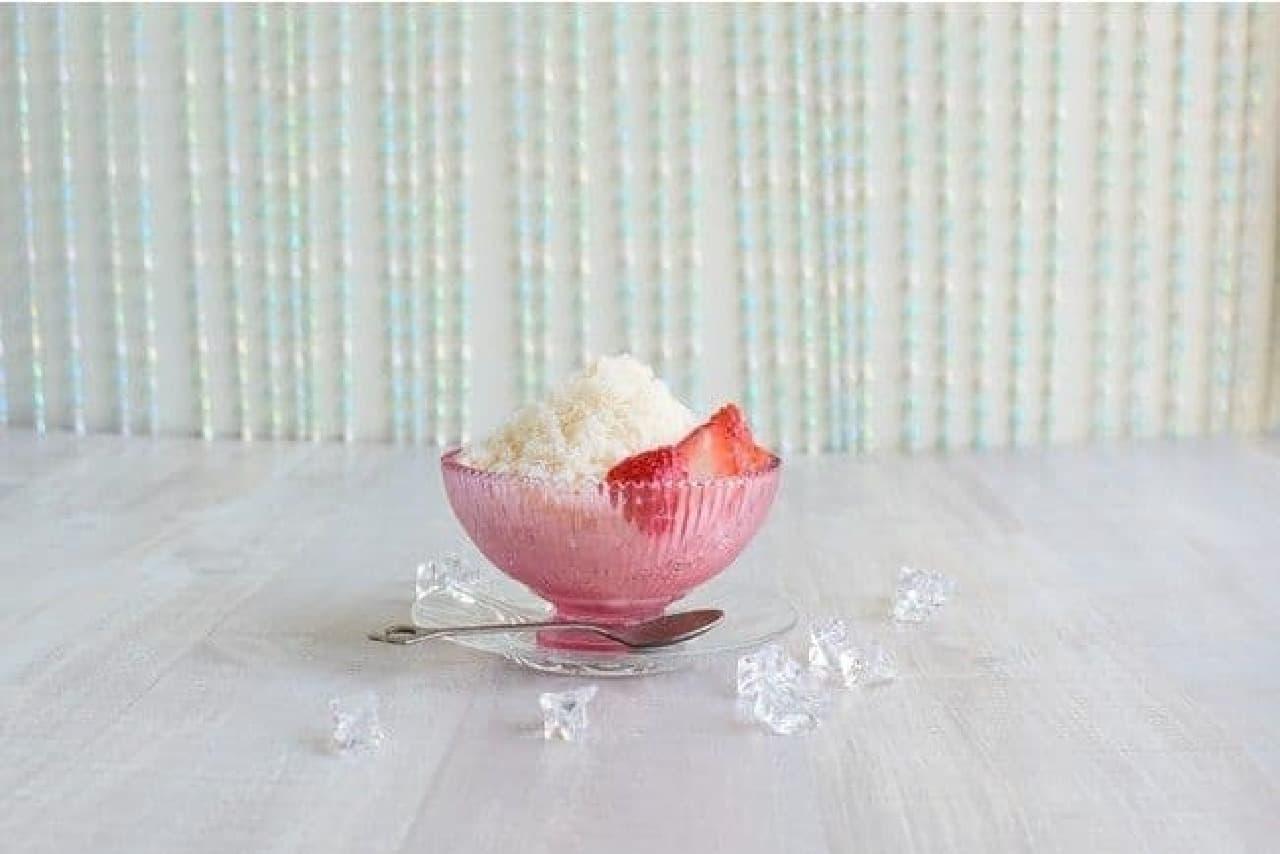 マルサンアイ「豆乳飲料かき氷れん乳いちご風味」