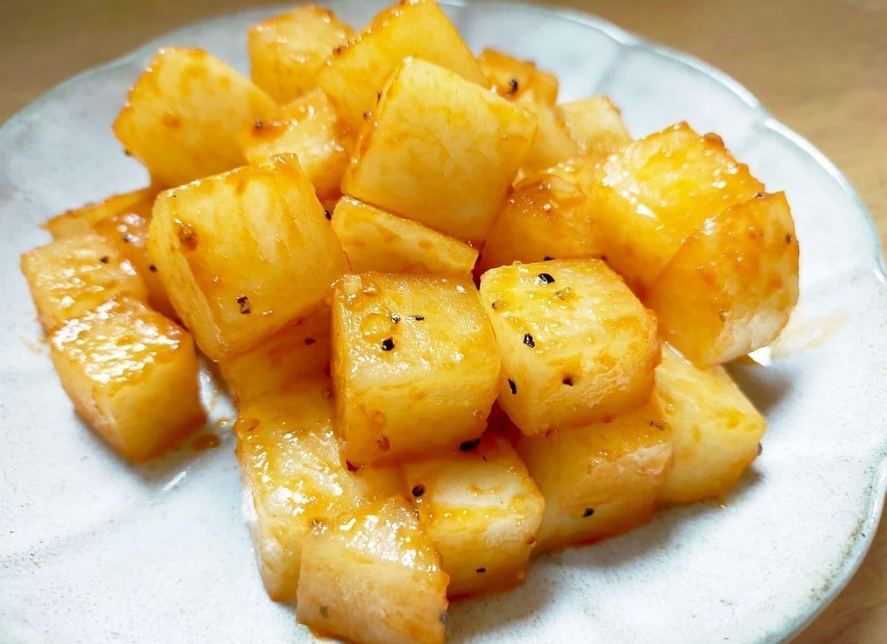 """Simple recipe for """"Italian radish saute"""""""