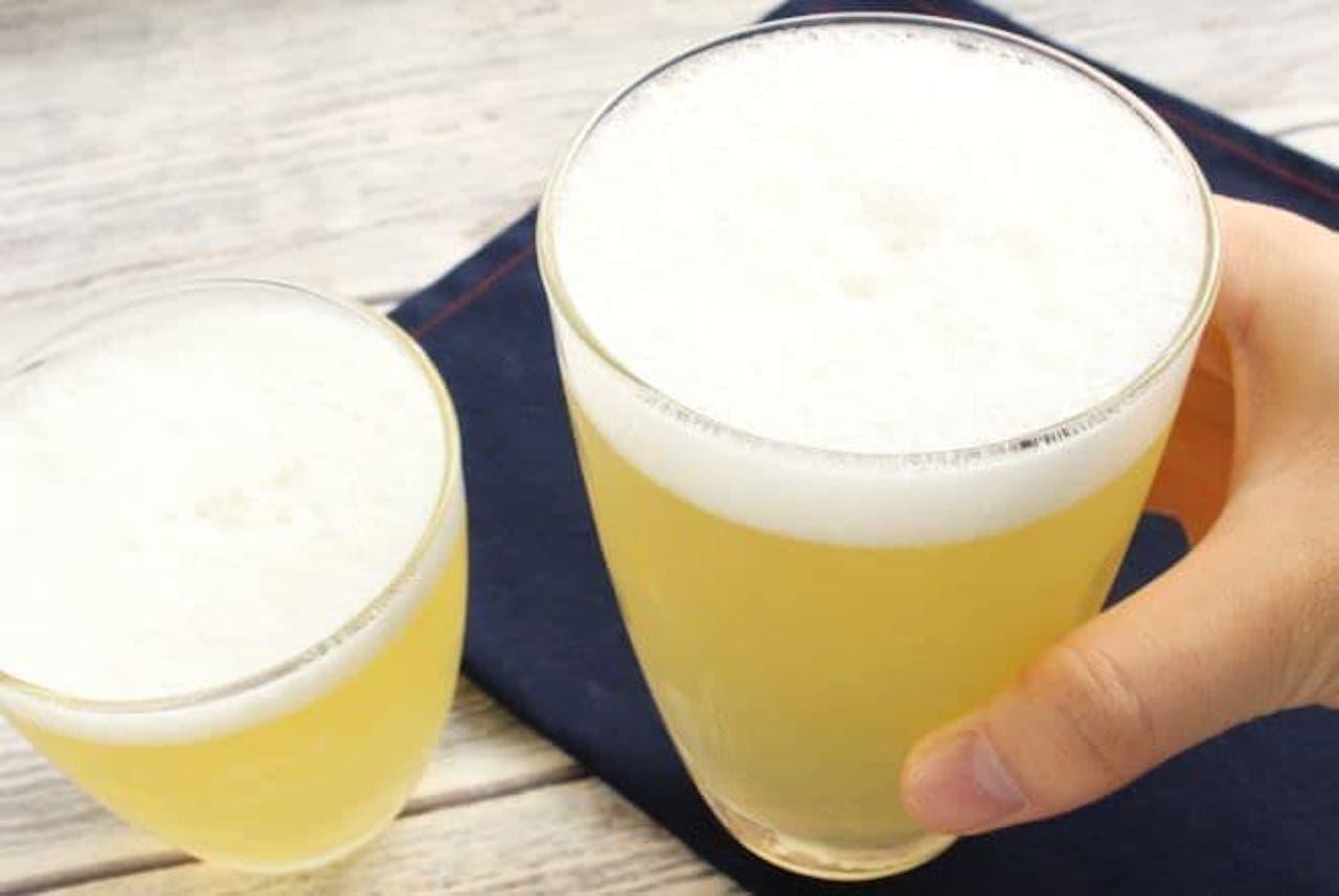 「ビールゼリー」のレシピ