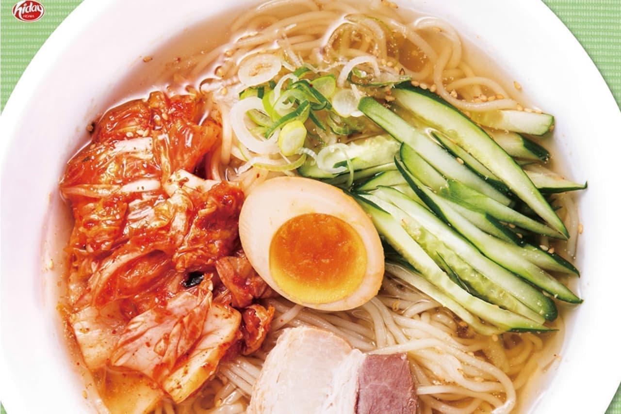 日高屋「冷麺」期間限定
