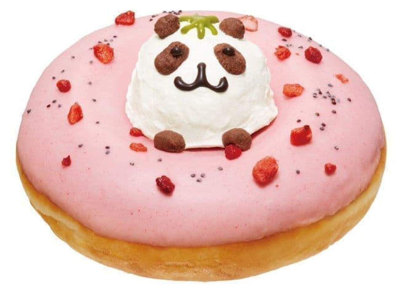 KKDジェイアール名古屋タカシマヤ店限定「クリスピー・クリーム・プレミアム イチゴ パンダ」