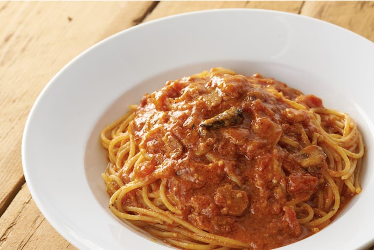 カプリチョーザ「トマトとニンニク 辛さ増し」