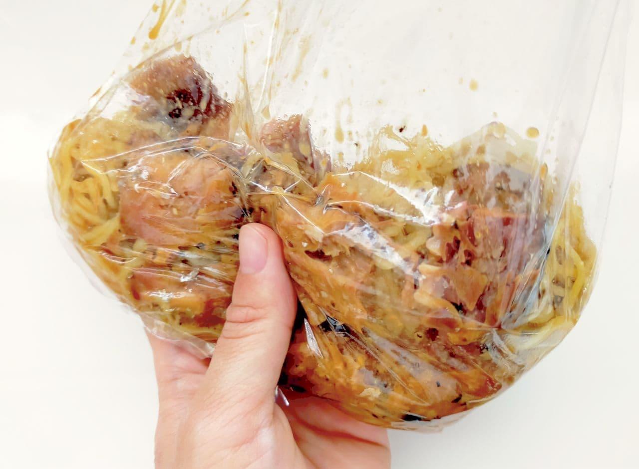 焼そば麺&さば缶で作る「からそば風」レシピ