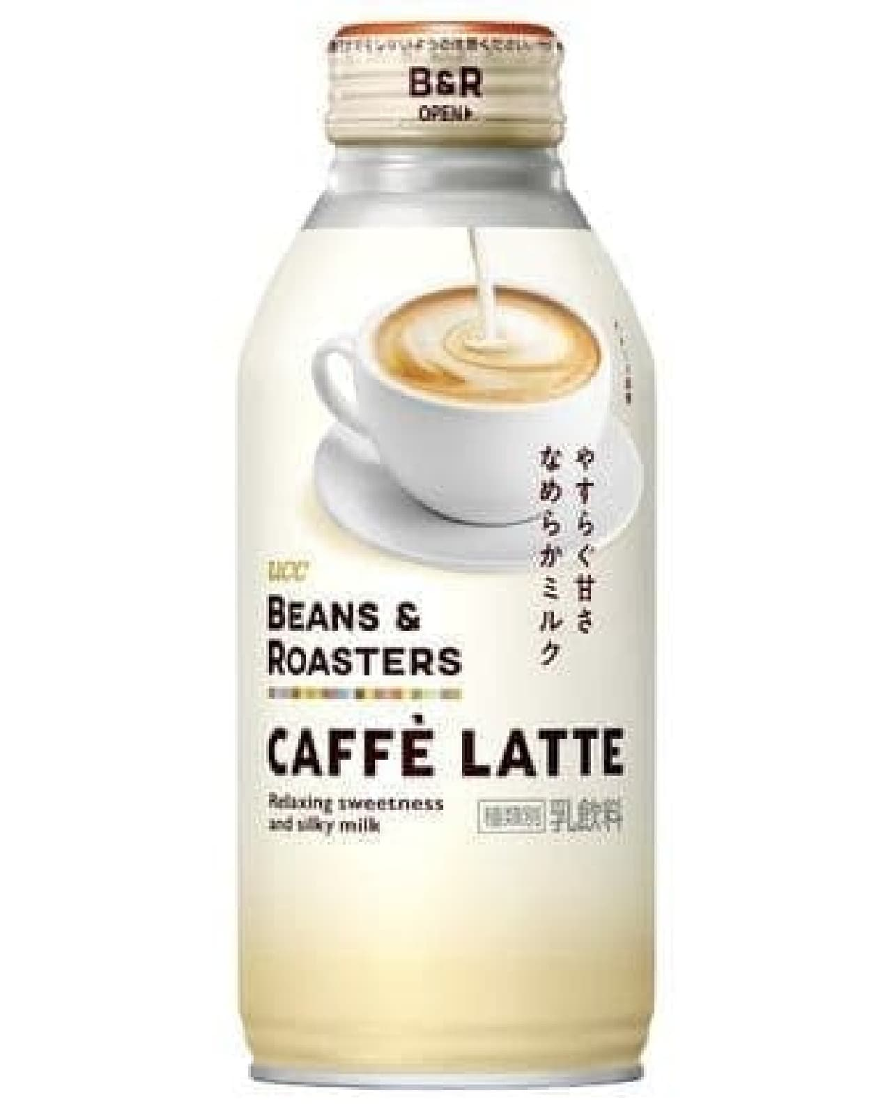 UCC BEANS & ROASTERS CAFFE LATTE リキャップ缶375g