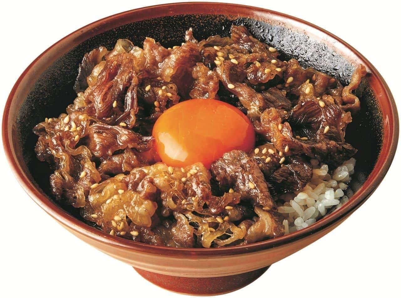 丸亀製麺「神戸牛すき焼き丼」