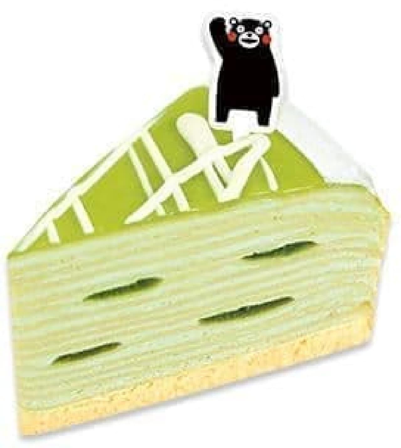 不二家洋菓子店「熊本県産肥後グリーンメロンのミルクレープ」
