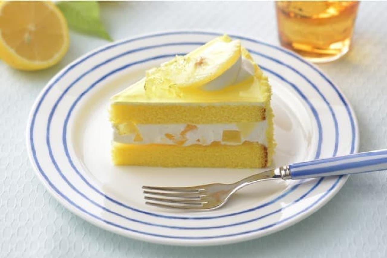 銀座コージーコーナー「瀬戸内レモンのショートケーキ」