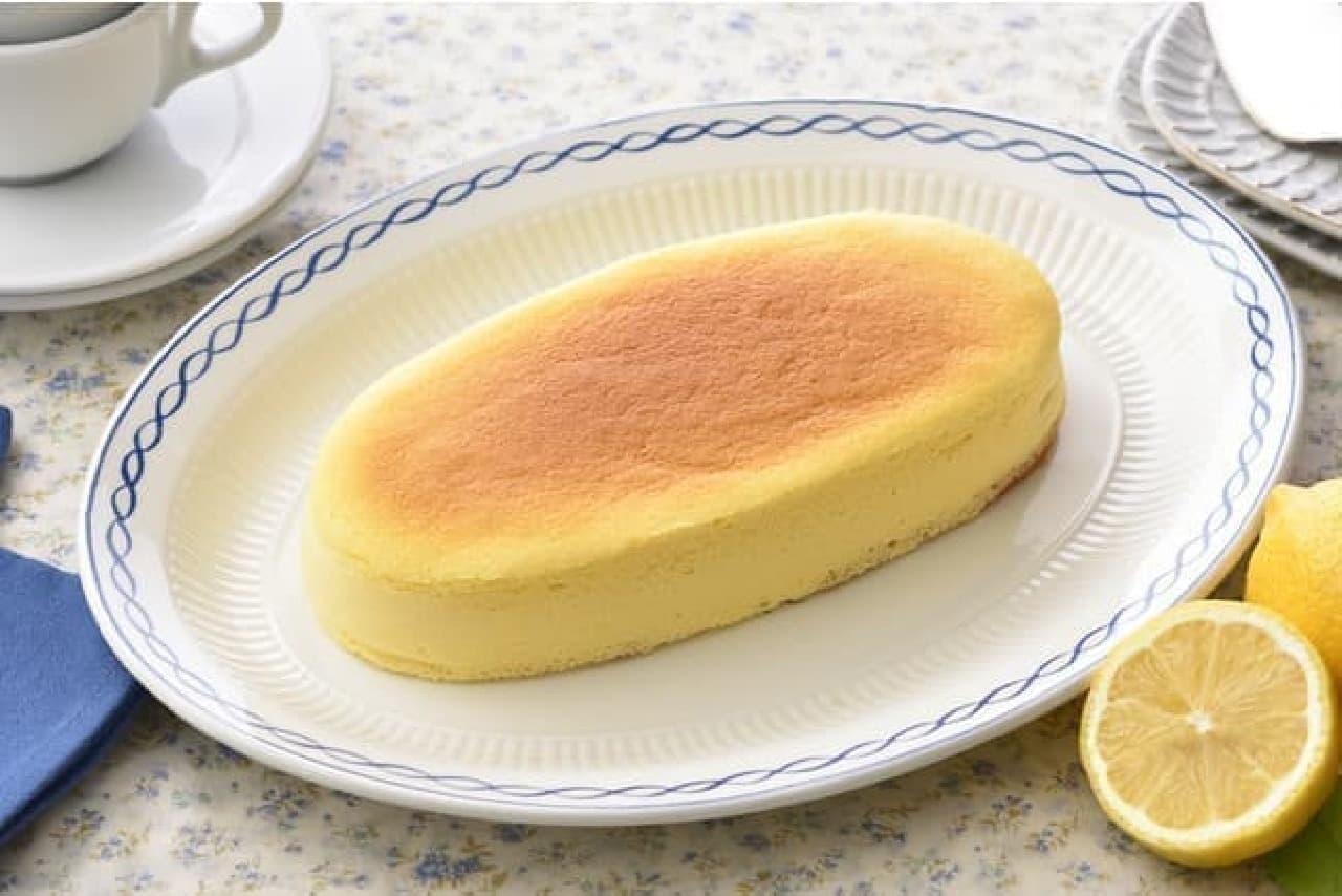 銀座コージーコーナー「瀬戸内レモンのチーズスフレ」