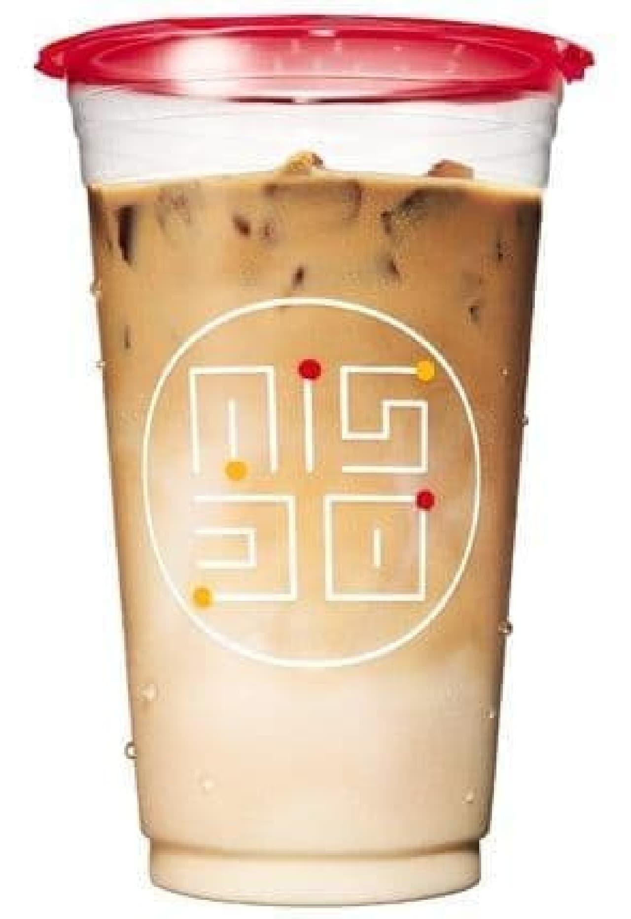 ミスタードーナツ「ダブル氷コーヒー」