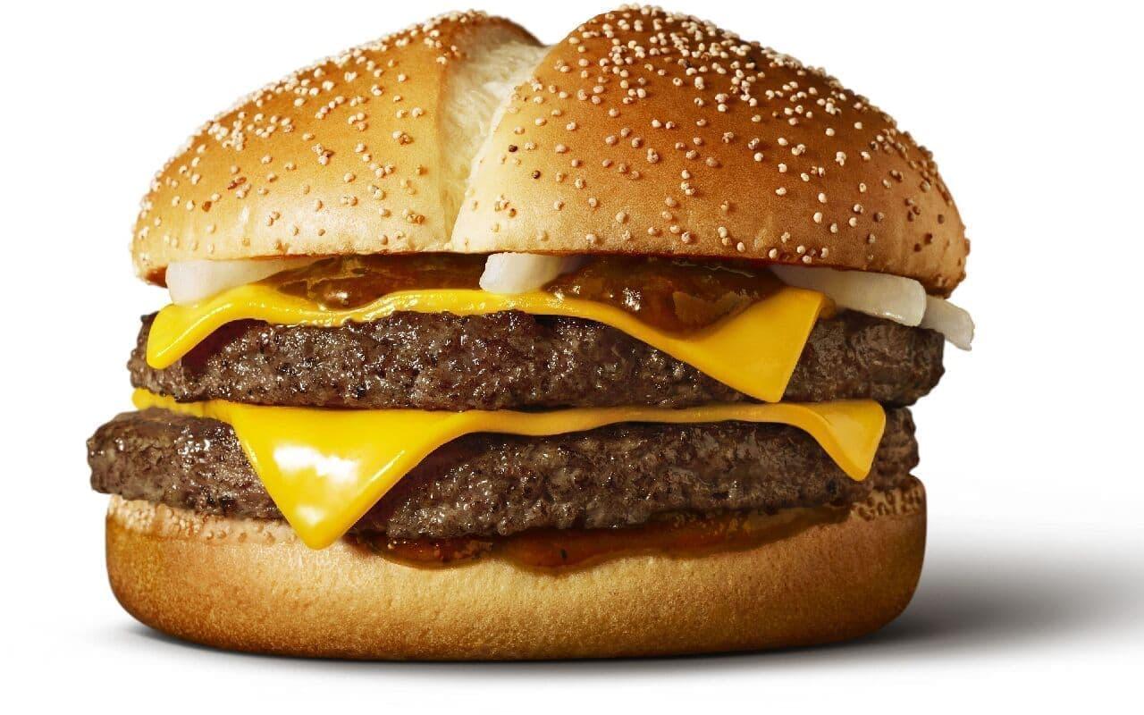 マクドナルド「炙り醤油風 ダブル肉厚ビーフ」