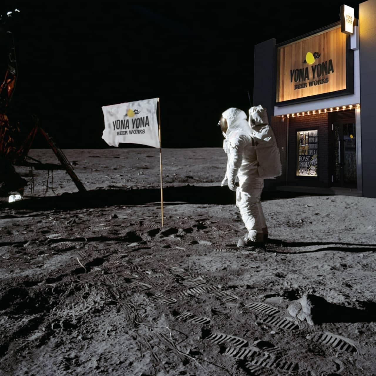 よなよなビアワークス「月面支店」