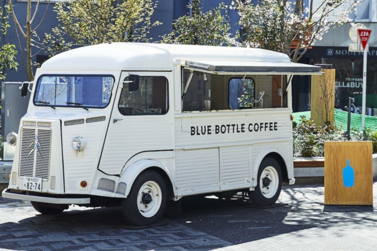 ブルーボトル コーヒートラック