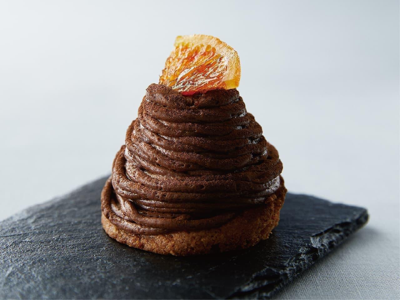 プロント「生チョコオレンジモンブラン」
