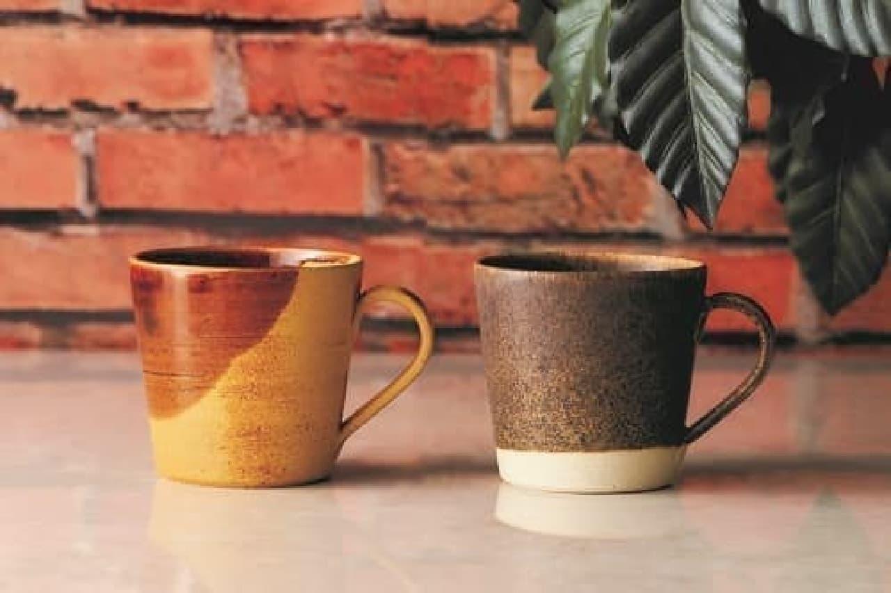 タリーズコーヒー「珈琲碗 黄茶-kissa-」「珈琲碗 焙染-baisen-」