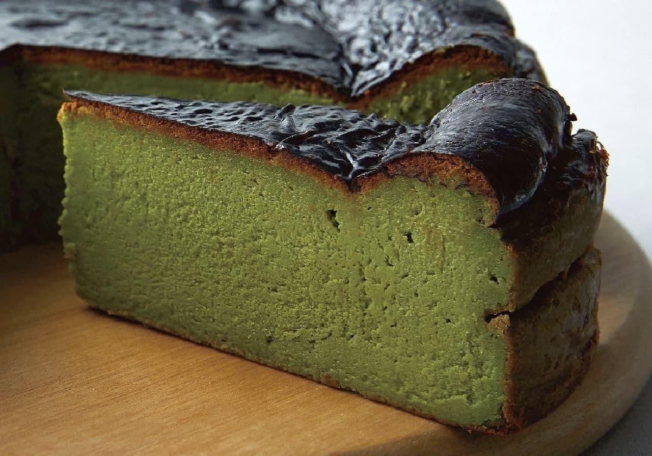 プロント「STONEMILLの抹茶バスクチーズケーキ」