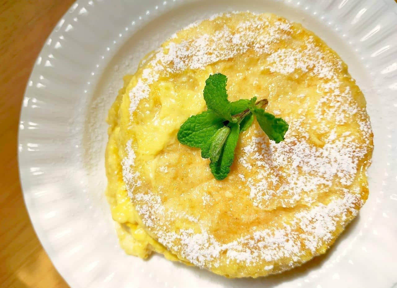 イングリッシュマフィンで「フレンチパンケーキ」レシピ