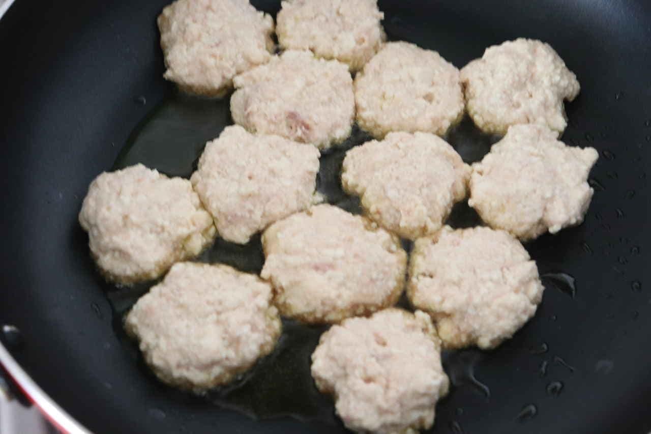 ツナ豆腐ナゲット