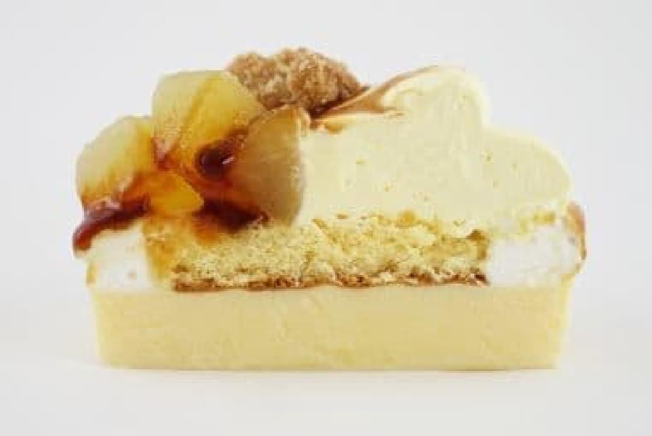 ファミリーマート グラニースミス監修の「アップルコブラー りんご&カスタード」