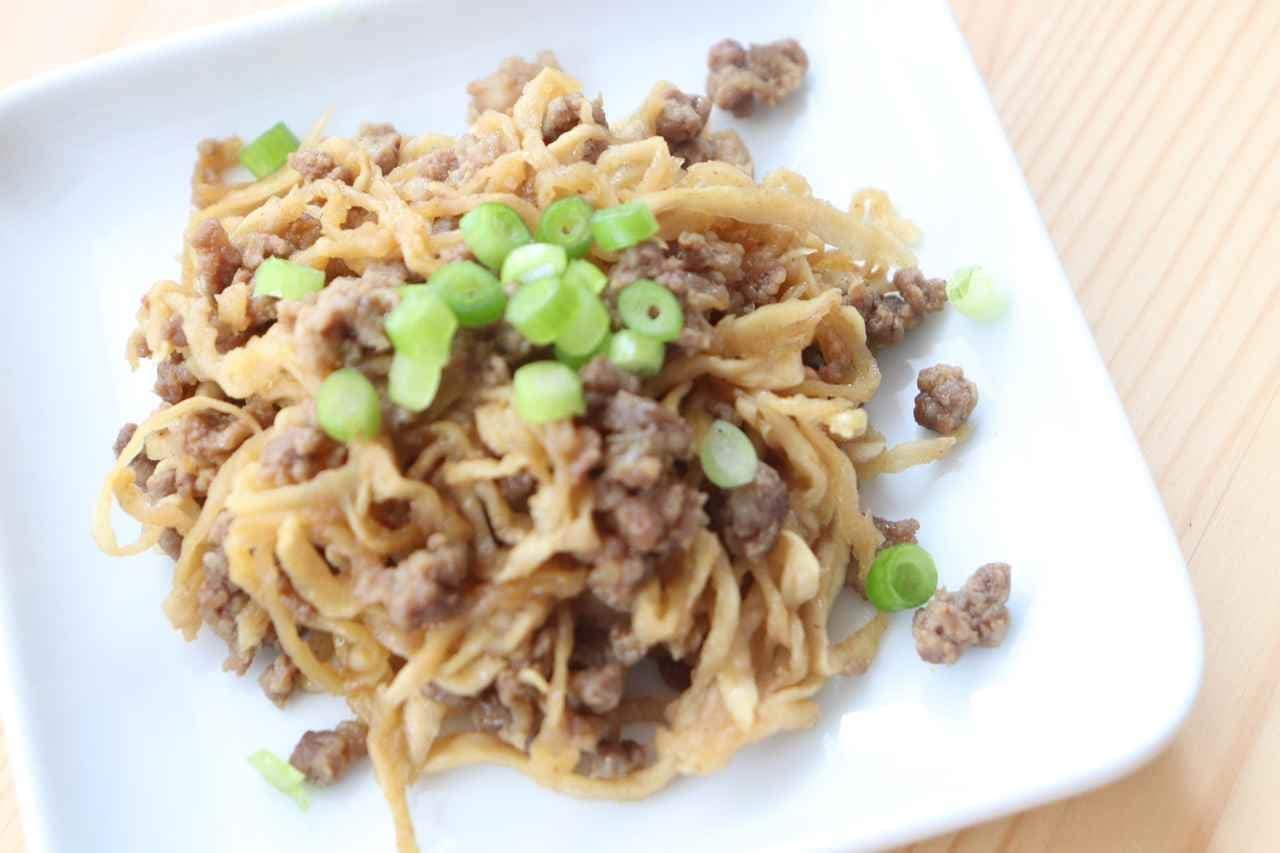 切干大根&ひき肉カレー炒め